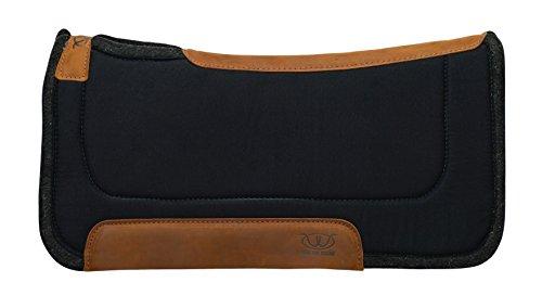 Weaver Leather Herculon Top, Straight Saddle Pad - Wool Felt ()