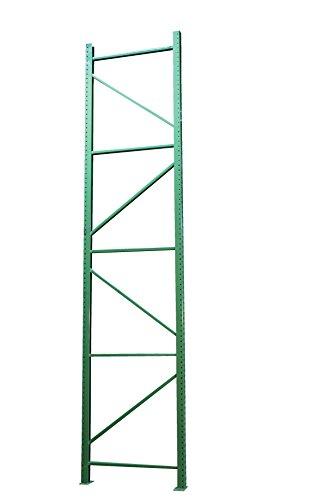 """Vestil PRTD-14-42-24 Pallet Racking-Frame, 24000 lb. Capacity, 168"""" x 42"""", Green"""