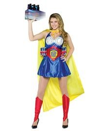[Beer Girl Adult Costume - Small/Medium] (Super Beer Girl Costume)