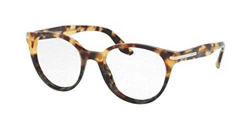 Eyeglasses Prada Frames New (Prada PR07TVF Eyeglass Frames U6O1O1-52 - Medium Havana/spotted Green PR07TVF-U6O1O1-52)