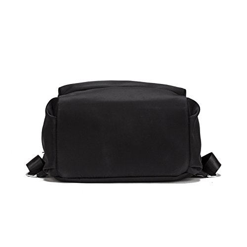 HYP Handmade Leather Tote Bag Travel Bag/&Computer Bag For Women /Double shoulder bag college students in The backpack
