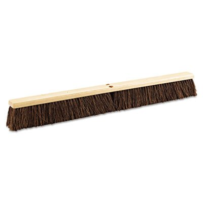 Proline Brushes BRU 20136 Palmyra Fiber Push Broom, 3-1/4