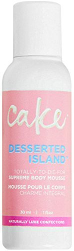 Cake Desserted Island Supreme Body Mousse 30ml|1oz Travel Size