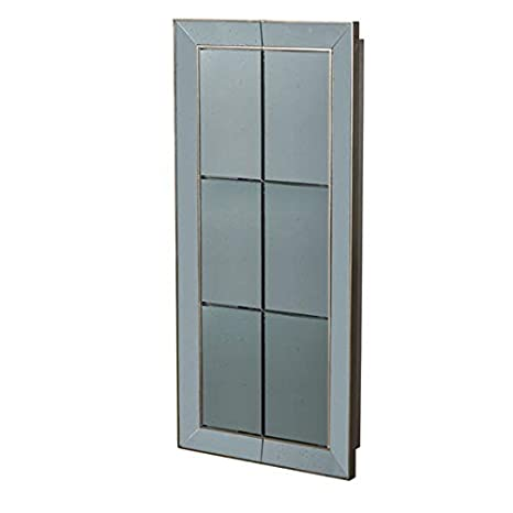 Amazon.com: Vintage Glamour - Espejo de pared de plata ...