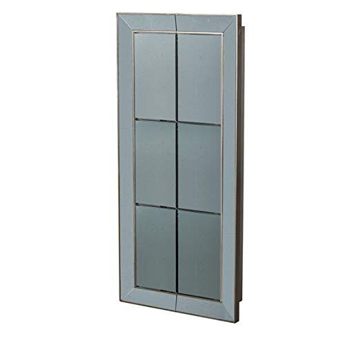 Amazon.com: Vintage Glamour - Espejo de pared de plata ...