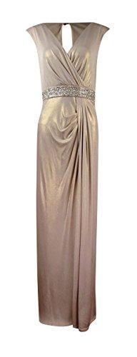 Beaded Jersey Knit Dress - 8