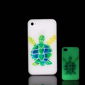 QYF iPhone 5/iPhone 5S compatible Special Design/Glow in the Dark Back Cover