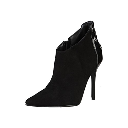 Negro Abotinados In Made Italia Mujer Shoes Zapatos gzxw0Pq