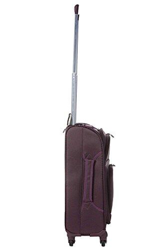bagaglio Leggera Airlines 22x14x9in negro e a Aerolite Virgin 56x36x23cm 4 con United Atlantic Delta Airlines a P mano ruote massima per ruote valigia Dimensione American EtqdBwfgBc