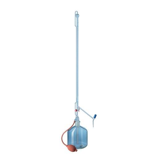 50 ml gerade Bohrung mit Glasabsperrhahn Glassco 1567//B//50 Borosilikatglas-B/ürette Klasse B