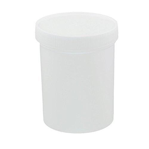 eDealMax 500ml de impresión de plástico del depósito de Tinta en polvo de almacenamiento de sellado tarro Espesar Blanca: Amazon.com: Industrial & ...
