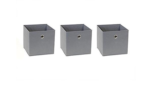 New Swedish Design Cesta de estantería para IKEA Billy Estantería Juego de 3