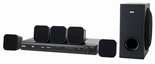 (RCA (RTD3276H) 200-Watt 5.1 Channel DVD Home Theater System)