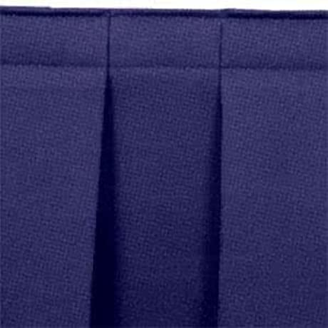 Tabletop King Seating SB32 96 Navy Box Stage Skirt For 32 Stage 96 Long