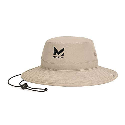 Mission Cooling Bucket Hat, Khaki