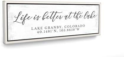 Pretty Perfect Studio Custom Lake House Sign