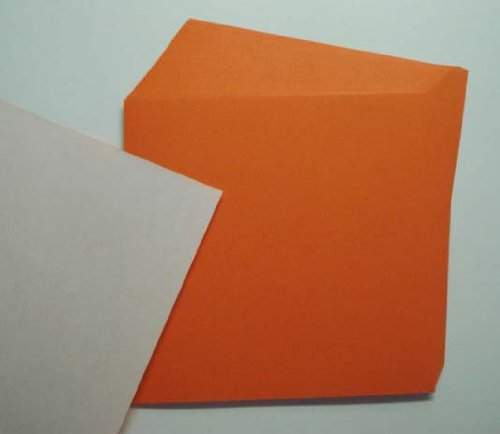 Origami Paper, 50 sheets Orange #N8291 Photo #2