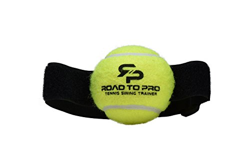 Tennis Swing Training System by Road To Pro - [3 Tennis Swing Trainers] + [Training Manual] + [Carrying Bag]