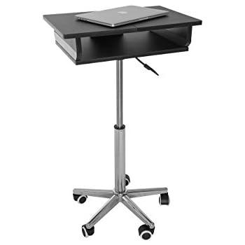 Amazon Com Tatkraft Salute Laptop Desk Cart Computer
