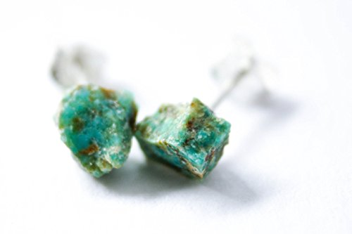 Premier Cleopatra Costumes (Natural Turquoise Earrings on Solid Sterling Silver Studs)