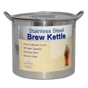 Polar Ware 42 Qt Stainless Steel Brew Pot with Lid For Homebrewing by Polar Ware