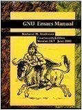 GNU Emacs Manual, Stallman, Richard M., 1882114078