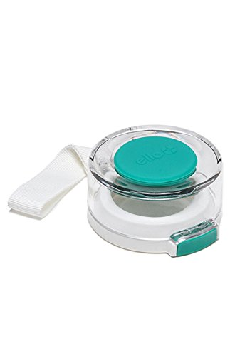 Ello Syndicate Glass Water Bottle Replacement Lid, Aqua
