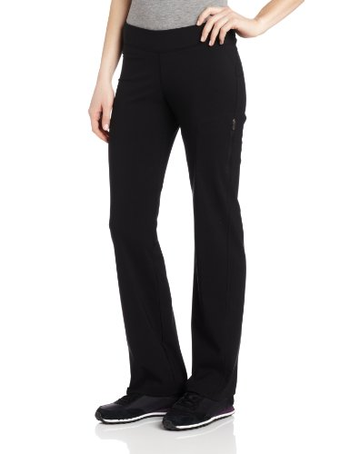 Active Run Straight Pant (Columbia Women's Back Beauty Straight Leg Pant, Black, Small)