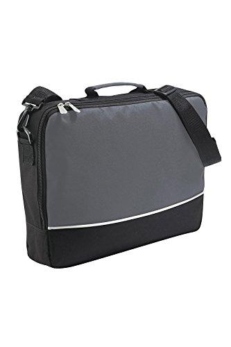 rojo amovible en negro hombro Bolsa de grafita negro Messenger ordenador negocio hombro de portátil del bag bolsa bolsa wBpxw6O7