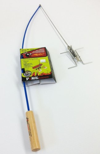 Fire Buggz Fishing Pole Campfire Roatser (Blue)