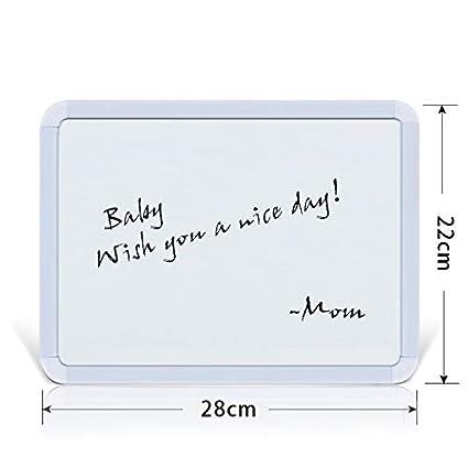 Pizarra magnética de borrado en seco, 2228 cm, pizarra ...
