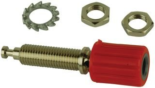 TENMA (FORMERLY FROM SPC) 2304 BINDING POST, 36A, M6, TURRET, RED