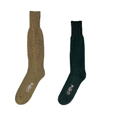 Gi Cushion Sole Socks - G.I. Type Cushion Sole Socks - Pair (Large, Olive Drab)