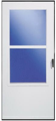 "LARSEN SUPPLY CO, INC. 029832U 298SS 36"" White Storm Door from Larson"