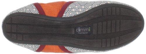 Dimmi Womens Hari Om Ballet Flat Blue Print