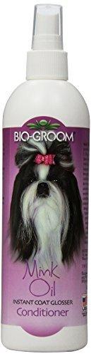 Bio-Groom Dog and Cat Mink Oil Spray, 12-Ounce by Bio-groom - Biogroom Mink Oil Conditioner
