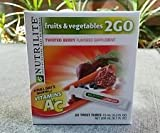 Nutrilite Fruits & Vegetables 2go Twist Tubes-twisted Berry