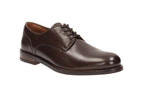 Clarks Coling Walk, Zapatos de Cordones Derby para Hombre Marron