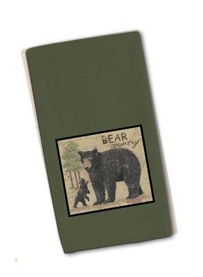 1 X Wilderness Trail Bear Patch Terry Towel