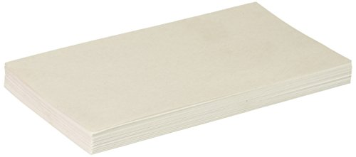 Unruled Index Cards, 3 x 5, White, 500 per Pack