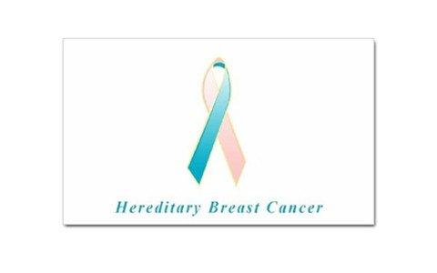 - Hereditary Breast Cancer Awareness Rectangular Magnet