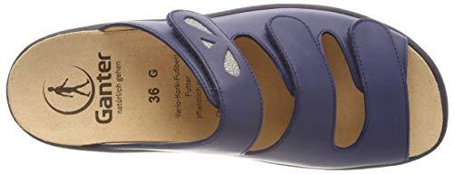 Bleu 3500 Mules g Femme Ganter Darkblue Gritt 7xAqUwWIWR