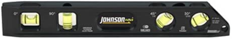 "Johnson Level & Tool 1411-0900 9"" Billet Torpedo Level,"