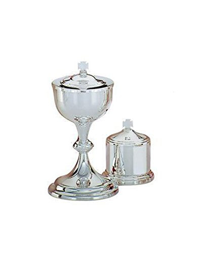 Christian Brands Church Supply SB179 Brass Ciborium with Gold Plated Cup by Christian Brands Church Supply