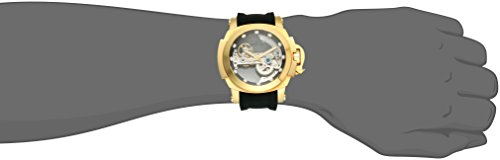 Forces Invicta Coalition Stainless Wind Silicone Self Steel Watch Men's Automatic With StrapBlack25model24708 4A5R3jL