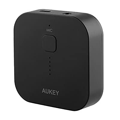Aukey Portable Wireless Bluetooth Audio Music Streaming Receiver