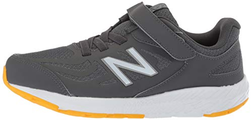 New Balance Boys' 519v1 Hook and Loop Running Shoe, Magnet/Phantom, 2 M US Infant by New Balance (Image #5)