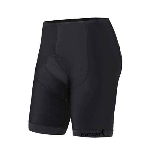 FASTONT Men's Cycling Shorts with 3D Padded Bike Shorts Comfortable Riding Shorts(Black, X-Large) Review