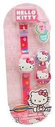 Sanrio Hello Kitty Watch - Kitty Watch w/ 2 Interchangeable Tops
