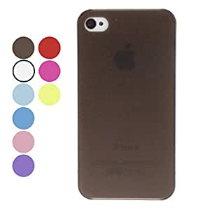 get Solid color thin hard for iPhone 4/4 (various colors) , Pink